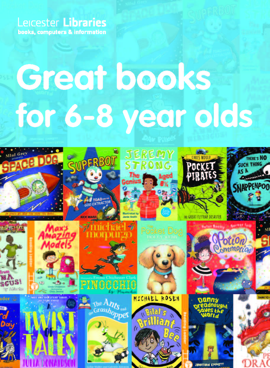 Great books for 6 to 8 year olds
