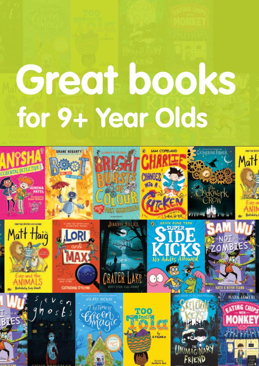 Great books for 9+ year olds